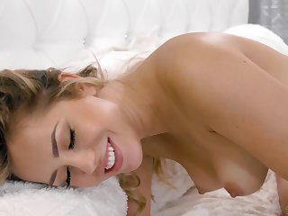 Alina loves low-spirited lovemaking and she is one sexy lesbian girl