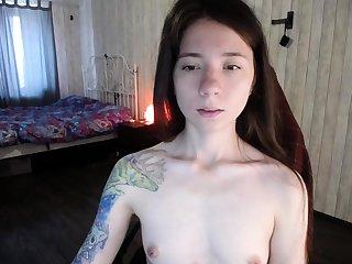 Unprofessional Webcam Teen Masturbates And Teases