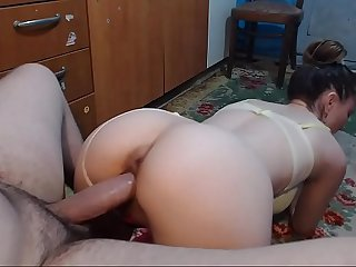 The brother in love with his step-sister takes a learn of to effect his footjob increased by at the same time gives him a blowjob