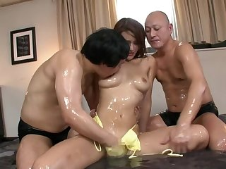 Horny Japanese whore in Crazy Massage, HD JAV movie