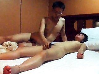 Completely Cute Korean GF's motel sex