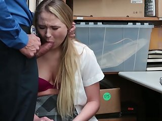 Sexy Teen Likes To Steal Here