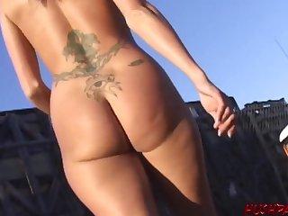Nudist girl Dillan amazing titillating photograph
