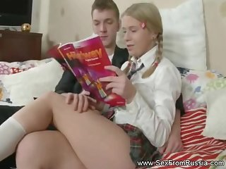 Outstanding Russian Babe Analized Arousement Session